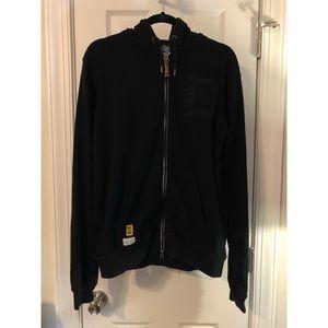 10.Deep Zip Up Jacket